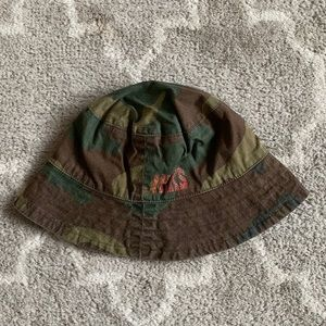 NWT IKKS France camouflage summer hat